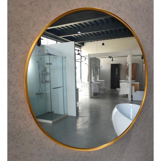 60CM圓鏡(金框)