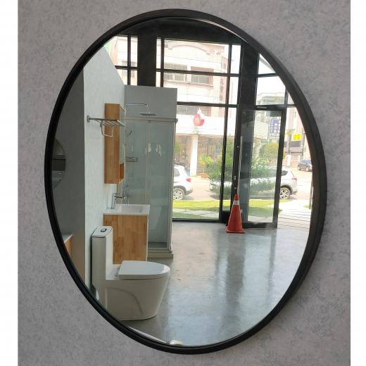 60CM圓鏡(黑框)