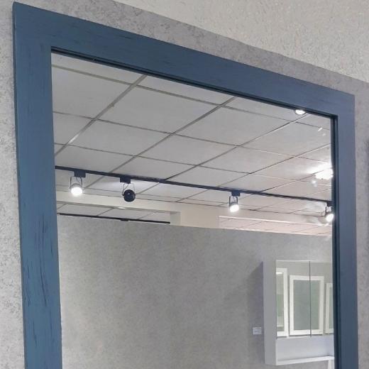 畫框鏡-藍(寬90)