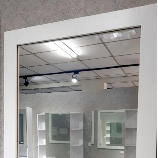 畫框鏡-白(寬60)