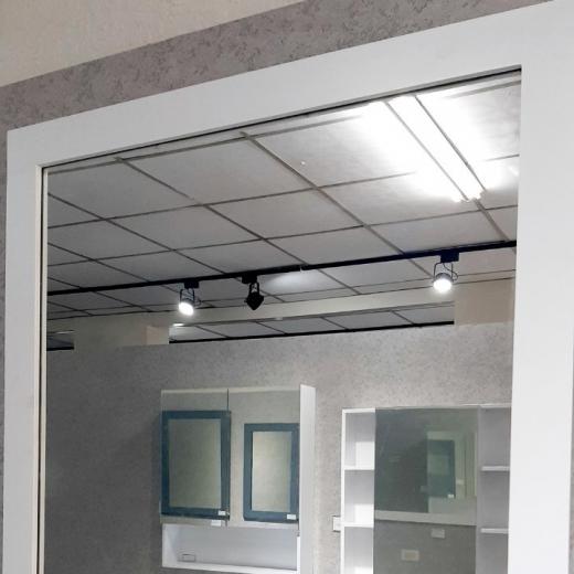 畫框鏡-白(寬90)