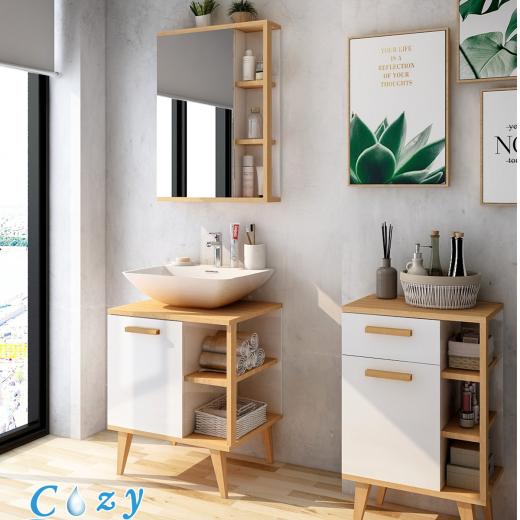 盆櫃、鏡櫃、收納櫃